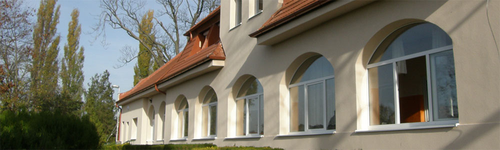 Domov sociálnych služieb pre dospelých Veľký Mede - vonkajšie priestory