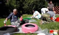 malovanie pneumatik