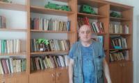 návšteva domácej knižnice
