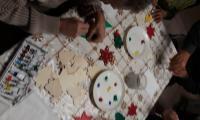 vyhotovenie vianočných ozdôb z dreva
